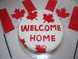 Welcome Home Cake Decorations Welcome Home Canada Cake The Tasty Vegan