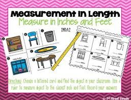 8 feet in inches measurement measure in inches and feet go math chapter 8 tpt