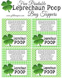free printable halloween treat bag labels leprechaun treats free printable treat bag toppers and gift