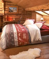 housse couette montagne chambre deco montagne belles chambres idee deco montagne