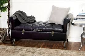 storage ottoman bench brown brown leather ottoman storage bench white upholstered storage bench