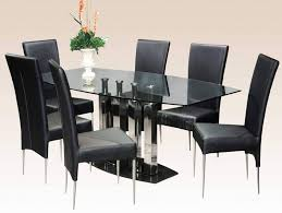 furniture selecting the right modern dining table sets modern furniture long black chair metal thin legs modern dining table sets with glass table
