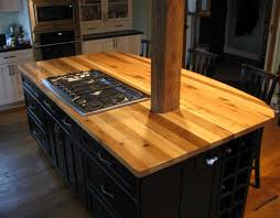 michele u0027s kitchen island is topped with american gothic reclaimed