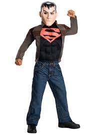 superboy kids costume young justice kids costumes