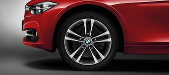 20 m light alloy double spoke wheels style 469m bmw 3 series touring lines equpiment
