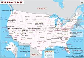 Usa Places To Visit Usa Travel Map