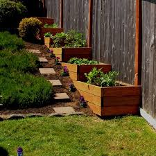 Best  Sloped Backyard Ideas On Pinterest Sloping Backyard - Backyard designs images