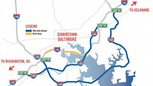Dc Traffic Map New Tip For Navigating I 95 Through Baltimore The Washington Post