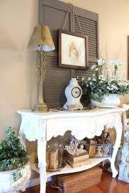 Sofa Table Decorating Ideas Pictures by 34 Best Old Shutter Decoration Ideas And Designs For 2017