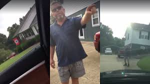 Car Window Flag Mount North Carolina Woman Confronts Man Flying Flag At His Home