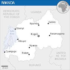 Rwanda World Map by Rwanda Map Blank Political Rwanda Map With Cities