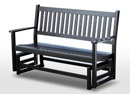 Patio Gliders August Grove Franklin Springs Hardwood Porch Glider Bench