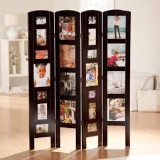 Four Panel Room Divider Furniture Extraordinary Wooden Four Panel Door Room Divider And