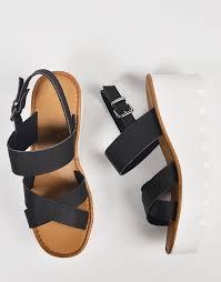 crossover slingback wedge sandals u2013 2020ave