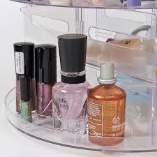 new versatile rotating glam beauty caddy cosmetic organizer make
