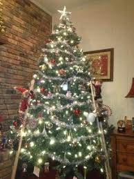 tree led light with c6 warm white led lights and 6 on