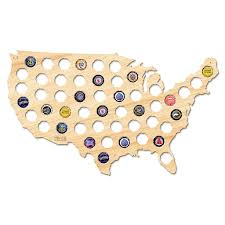 Large Map Of Usa by Beer Cap Map Of Usa Large U2013 After 5 Workshop