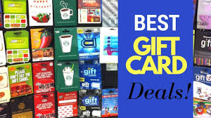 gift cards deals how to save money christmas shopping best deals on gift cards