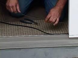 How To Fix A Patio Door How To Fix A Sliding Door Using A Sliding Door Repair Kit