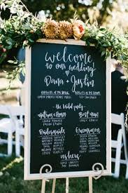 Wedding Program Chalkboard Chalkboard Wedding Poster Our Love Story Program Digital Or