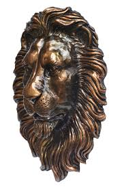 lion decor wall decor lion head wall mount lion head