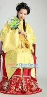 red chinese costume chinese costumes hanfu han dynasty ancient