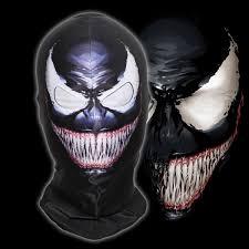 aliexpress com buy the amazing spider man venom full face mask