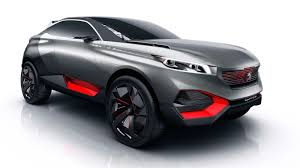 peugeot concept peugeot quartz concept could hint at new french suv photos 1 of 19