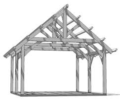 16 x 24 timberframe kit groton timberworks timberframe shed timber frame shed design sketchup tractor shed