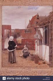 femme de chambre x arts hooch pieter de 1629 1684 painting photos arts