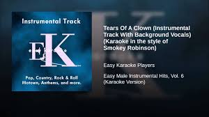halloween clown background tears of a clown instrumental track with background vocals