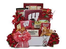 wisconsin gift baskets bucky badger gift basket wisconsin gift baskets badger gift