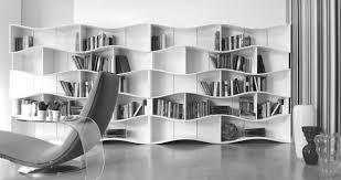 inspirations wall to wall bookshelves design as modern wall