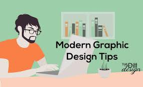 modern graphic design tips the dill design