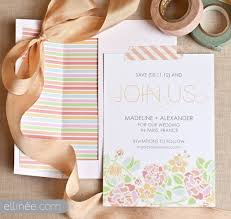 Free Save The Date Cards Free Spring Save The Date Card Paris In Bloom The Elli Blog