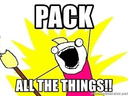 All Of The Things Meme - pack all the things x all the things meme generator