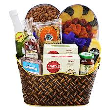 california gift baskets california treats