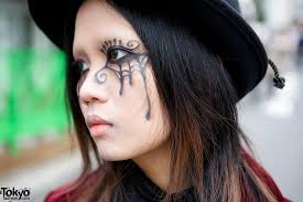spider web makeup u0026 gothic fashion w putumayo u0026 black peace now