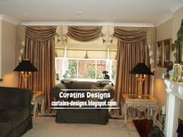 Designer Window Treatments by Curtain Ideas For Living Room Windows Luxury Curtain Designs