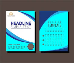 cover page template free download cover page template blue free vector download 21 764 free vector