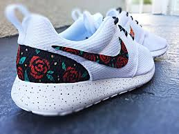 rosh run custom nike roshe run design floral custom roshe gold