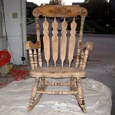 Vintage Rocking Chair For Nursery Refinishing A Rocking Chair U2013 Between3sisters