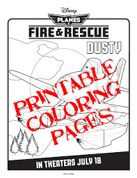planes fire u0026 rescue free printable activities coloring pages