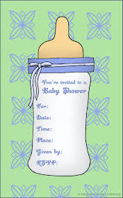baby shower invite template lilbibby com