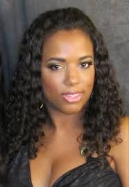 dark ladies with curled weaves hairstyle picture magz