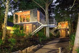 treehouse home plans modern tree house plans by ar baumraum in berlin germany how to