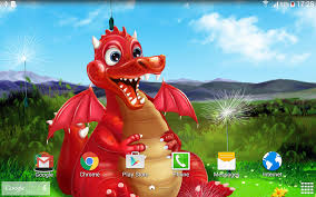 cute dragon live wallpaper android apps on google play
