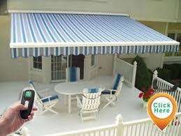 Tampa Awnings Marygrove Sun Shades Remote Control Motorized Retractable Roll