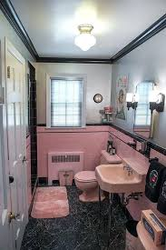 Pink Tile Bathroom Ideas Pink Tiles Bathroom Best Pink Bathroom Images On Pink Tiles Pink