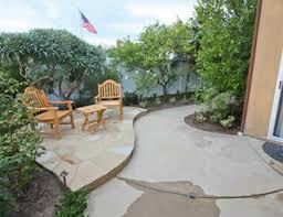 Patio Ideas For Small Backyard Concrete Patio Pictures Gallery Landscaping Network